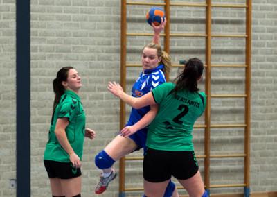 Dames 1 tegen Dronten – 24 januari 2015